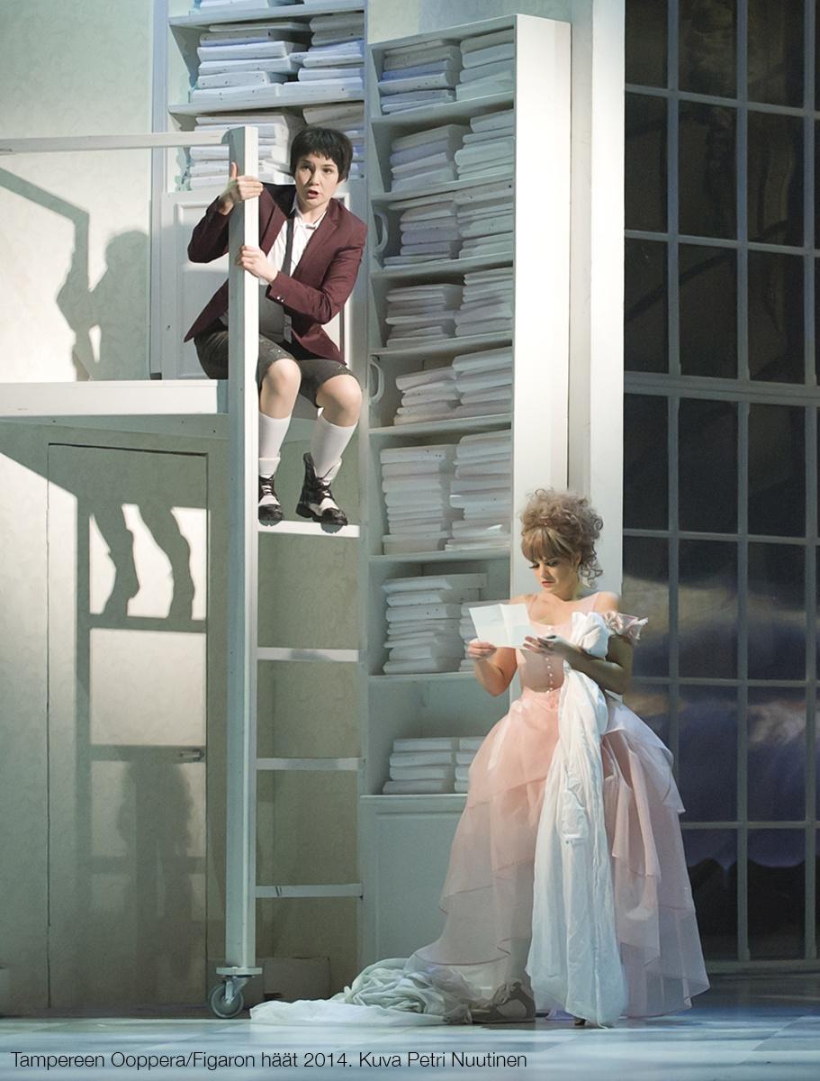 Figaron haat -ooppera Tampere-talossa 2014, ohjaus Tuomas Park