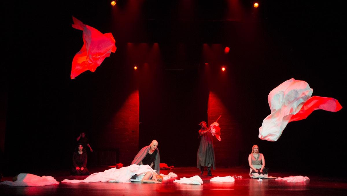 The rape of Lucretia- Opera BOX kuva- Markku Pihlaja